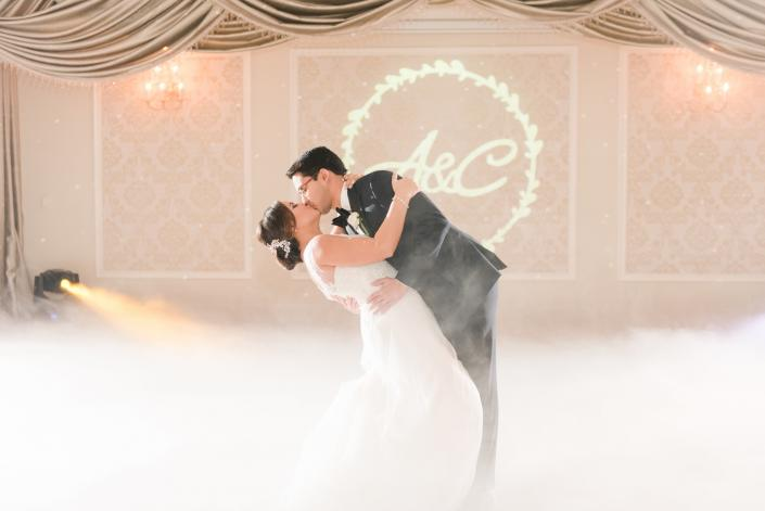 [Image: Ailyn and Cesar at Grand Salon Ballroom]