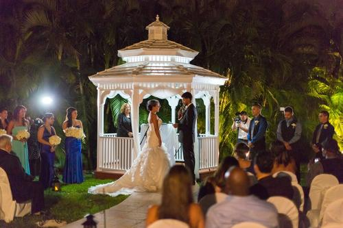 Gazebo Ceremony at Killian Palms Country Club