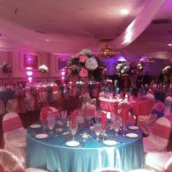Setup for Quince at Royal Ballrooms