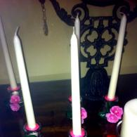 Nice and easy Quinceanera candles decor