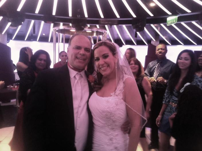 [Image: Congratulations Ray and Marilyn! What an awesome wedding!]